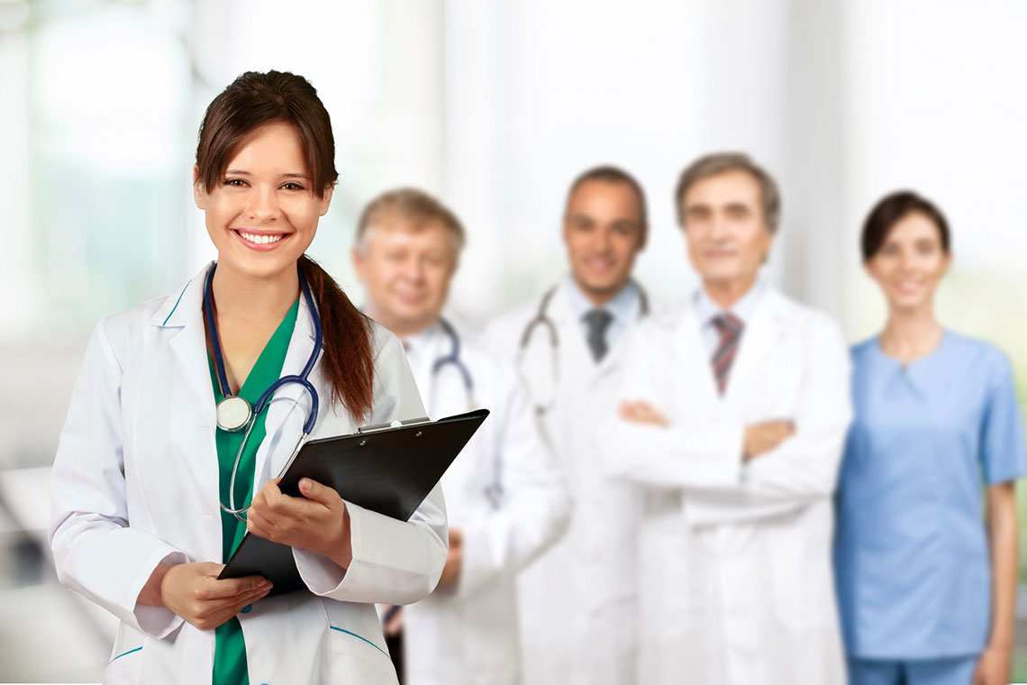 Doctors are happy with you